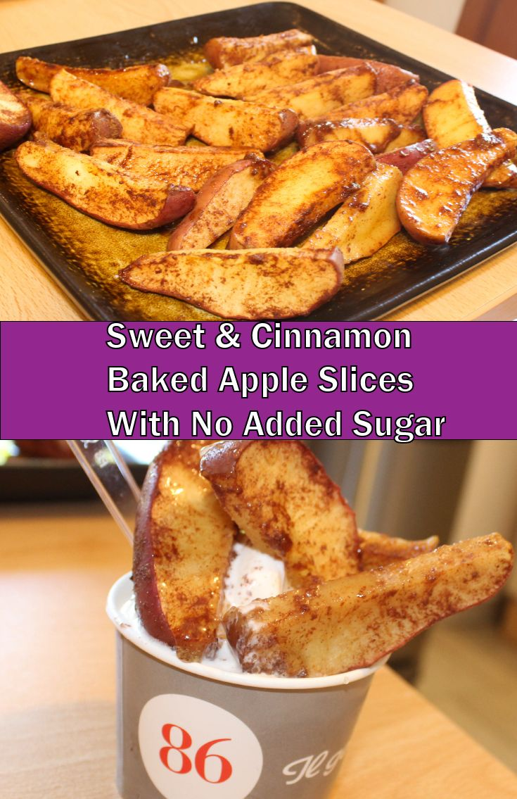 how to make baked apples slices in the microwave
