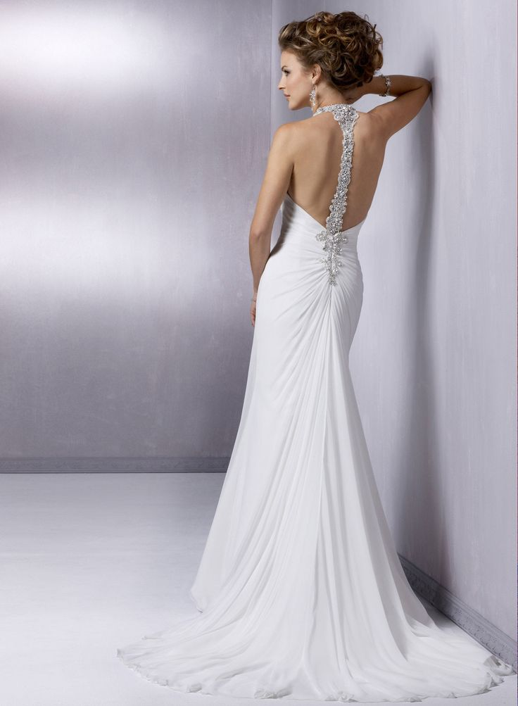 Maggie Sottero Wedding Dresses Open Back