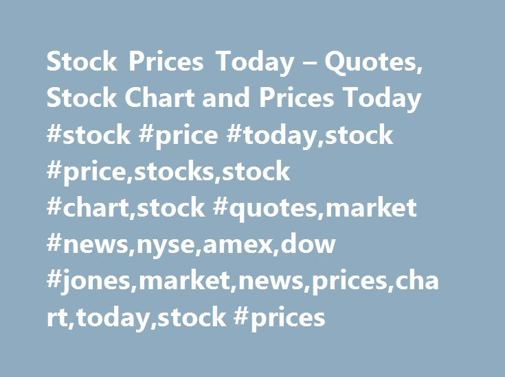 Stock Prices Today – Quotes, Stock Chart and Prices Today #stock #price #today,stock #price,stocks,stock #chart,stock #quotes,market #news,nyse,amex,dow #jones,market,news,prices,chart,today,stock #prices http://invest.remmont.com/stock-prices-today-quotes-stock-chart-and-prices-today-stock-price-todaystock-pricestocksstock-chartstock-quotesmarket-newsnyseamexdow-jonesmarketnewspricescharttodaystock-pr-2/  Here at StockPriceToday.com we provide end of day stock prices for listed US equities…