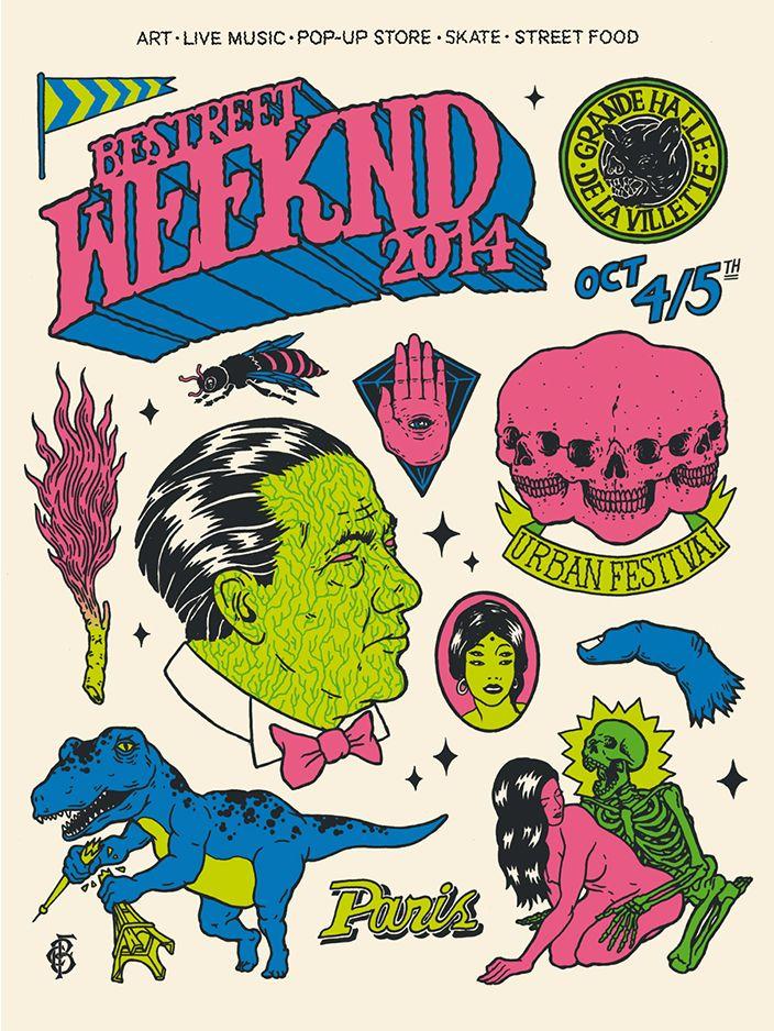 Les 4 et 5 octobre prochain, le BE STREET WEEKND est de retour ! 5x2 places à gagner pour la soirée de samedi soir > gradientmag.com