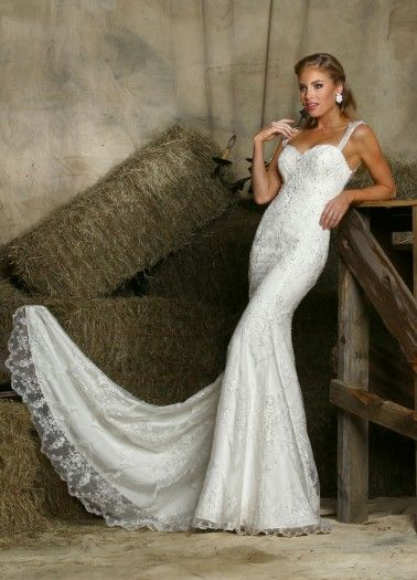 "Davinci ""In Stock"" Wedding Dress - Style 50338"