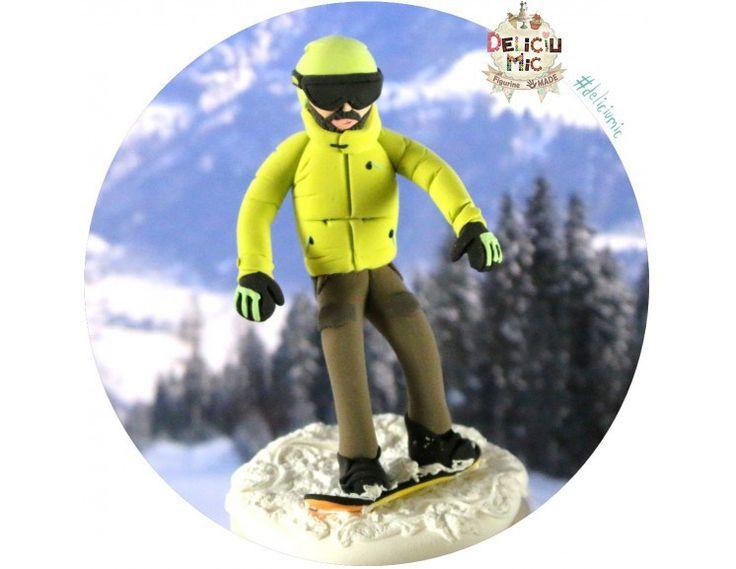 Figurine handmade -Sporturi de iarnă