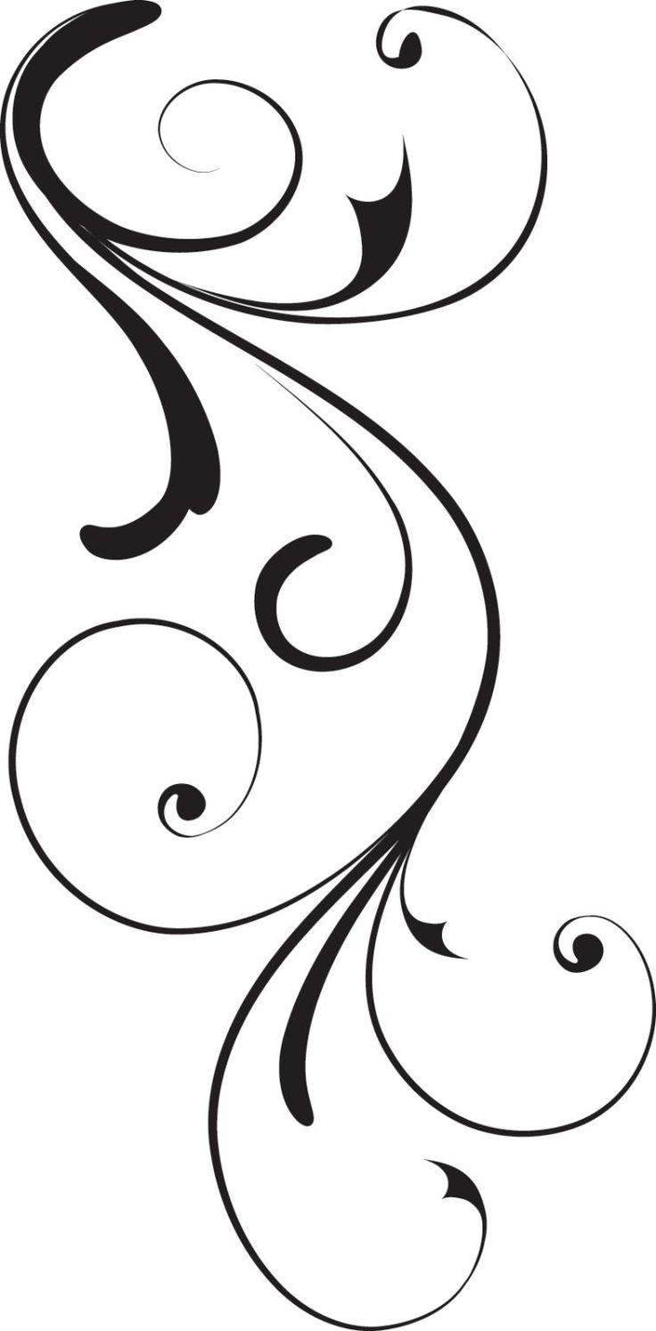 Swirl Corner Black Design Royalty Free Stock Vector Art  Clipart Best
