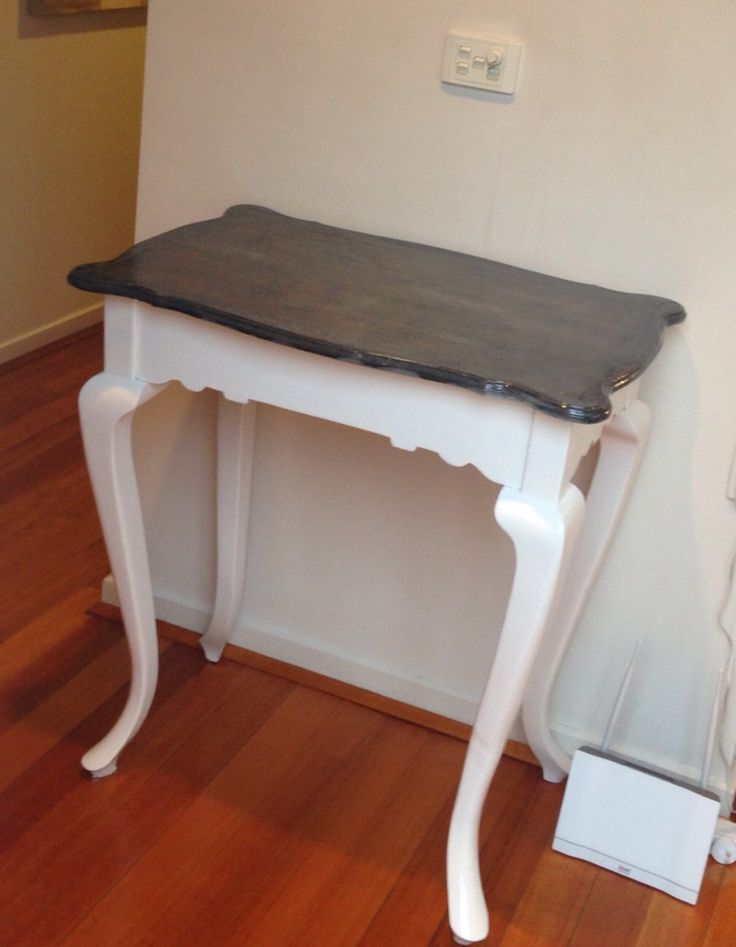 Scott painted telephone table for a close friend