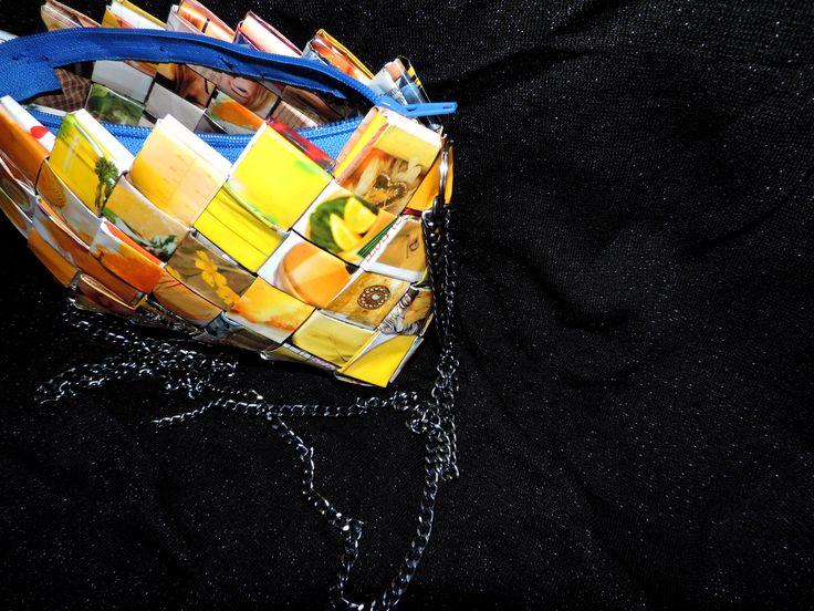 wrapper paper magazine purse bag #filotheychihiro