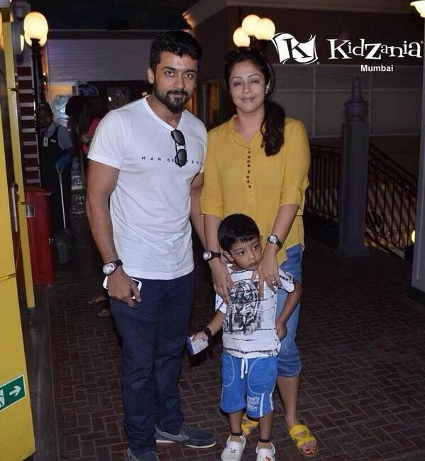 Actor Suriya With his Family