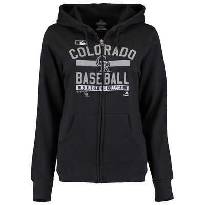 Colorado Rockies Majestic Women's Team Property Authentic Collection Full-Zip…