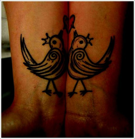 25 Cool Tattoo Designs For Couples