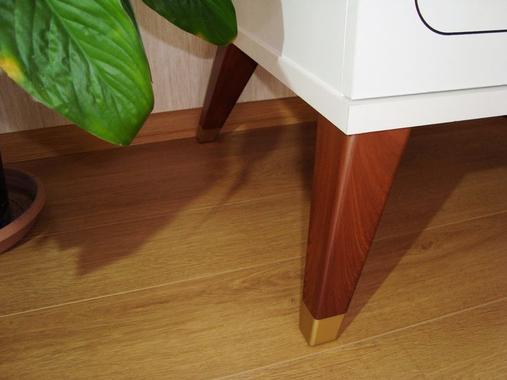 Mango 70x70x200 mm Ceviz-Walnut Plastic Furniture Leg