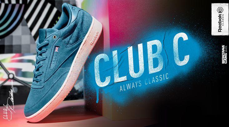 Άφησε το σημάδι σου στον κόσμο μέσα από το στυλ σου, με τα νέα #ClubC 85 MCC, όπως ο Hidden Classic Felipe Pantone.