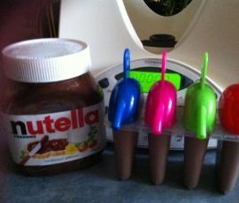 Recipe Nutella Ice Poles bimby