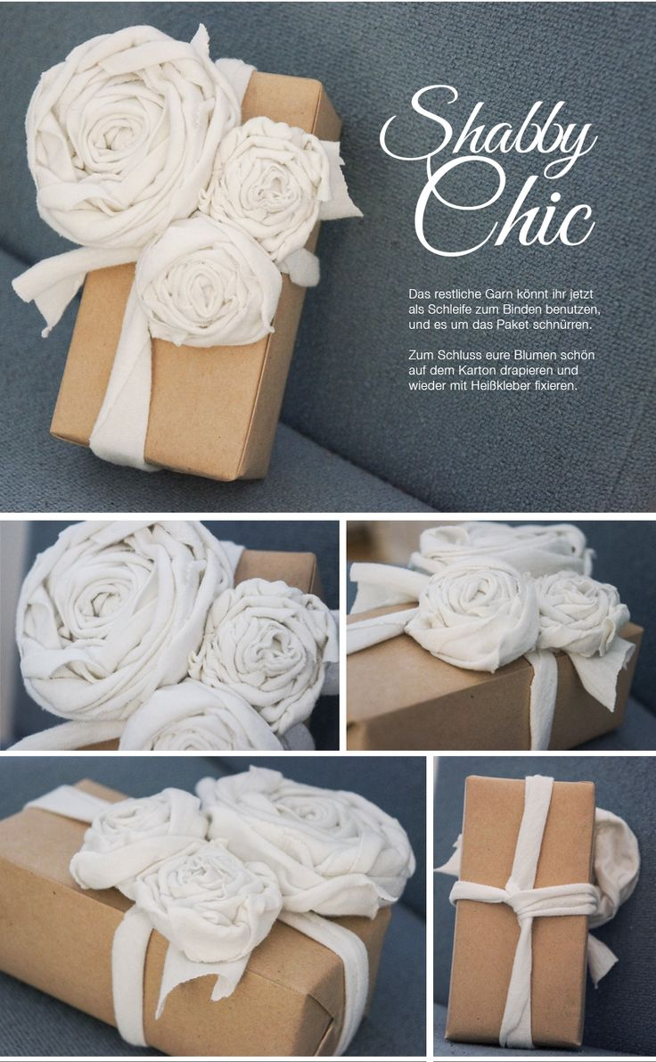 Katerina: Geschenke Verpacken / Gift Wrapping Idea