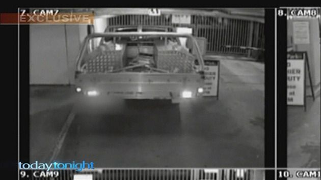 CCTV footage shows car parks have become places where people act dangerously.