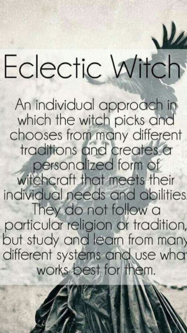 Eclectic Witch   Every Witch Way I Can   Witchcraft, Eclectic witch