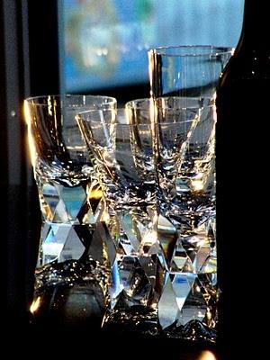 Crystalglass from Orrefors Kostaboda.