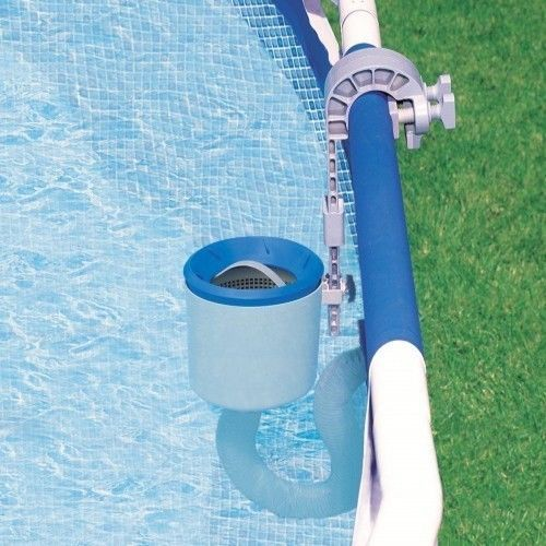 Pool-Easy-Cleaning-Deluxe-Wall-Mount-Surface-Skimmer-Tools-Spa-New