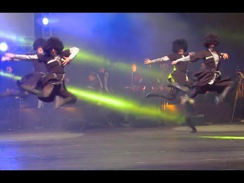 ансамбль Грузии СЭУ - грузинский танец Кавкасиури - YouTube