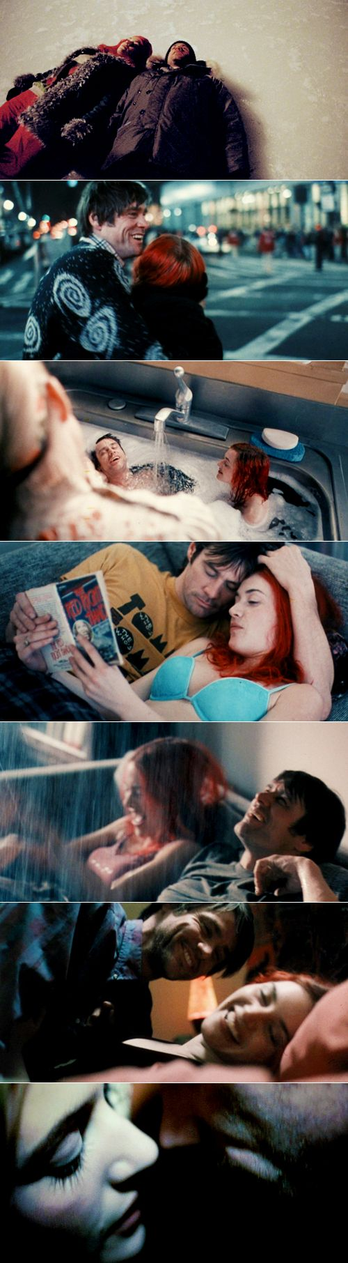 Eternal Sunshine of the Spotless Mind: Please let me keep this memory, just this one.