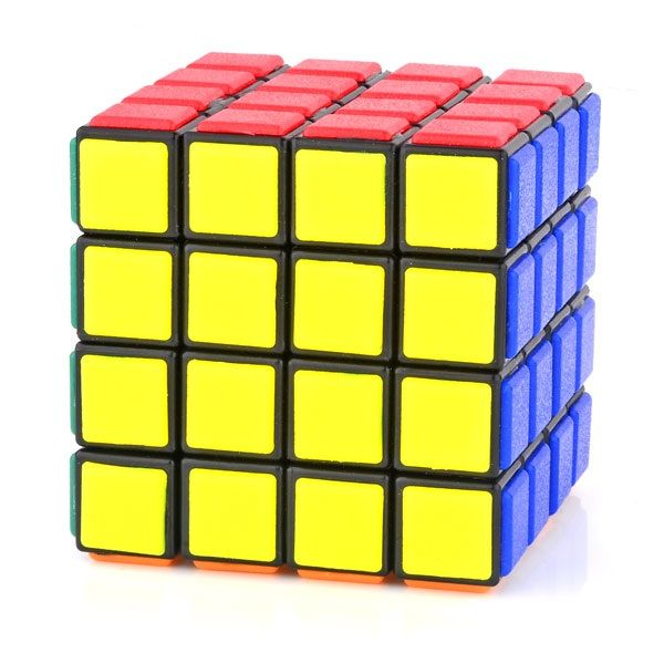 LanLan Tiled 4x4x4 Puzzle Magic Cube Black_Cube Componets & DIY Kits_Cubezz.com: Professional Puzzle Store for Magic Cubes, Rubik's Cubes, Magic Cube Accessories & Other Puzzles