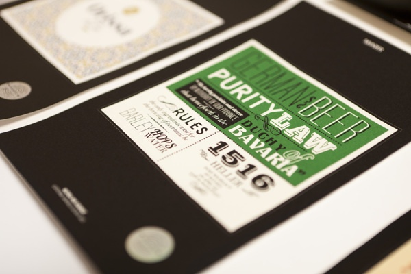 The Craft Beer Label Collection by Blou and Rooi , via Behance