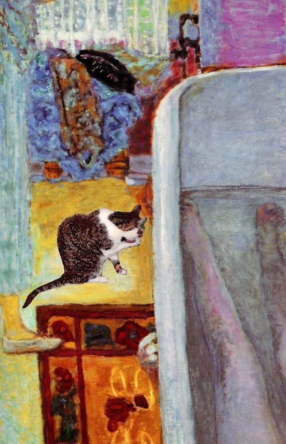 182 best Famous Artists Cats images on Pinterest | Cat art print ...