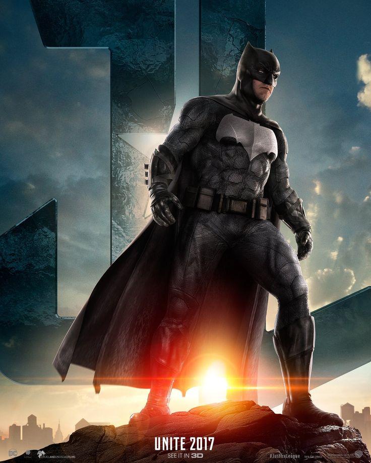 Ben Affleck, Batman, Justice League movie!! Can't wait!! 🖤