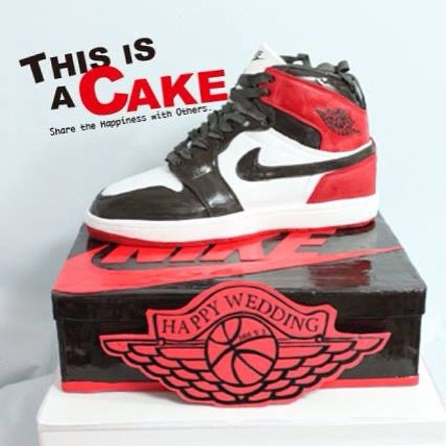 nice. Fashion CakesShoe CakesAir JordansJordan 116th BirthdayCake  DesignsWedding ...