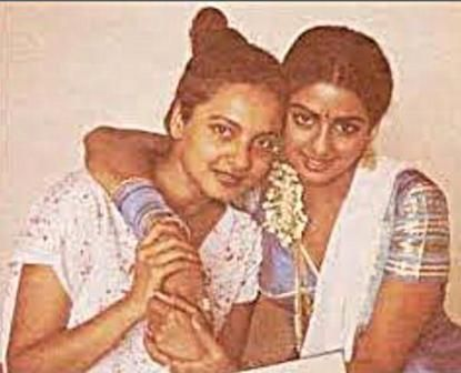 Rekha and Sridevi