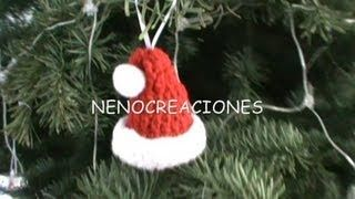 chaussette noel crochet - YouTube