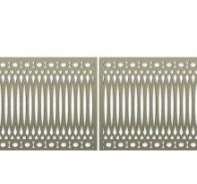 Pattern Library | Bok Modern C13 railing, fences gates, metal panels bokmodern…