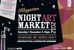 Kingston Night Art Market 2012