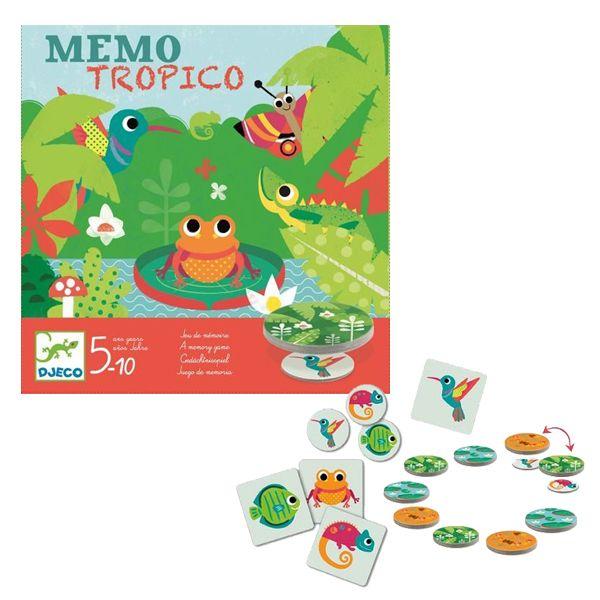 "Djeco Επιτραπέζιο παιχνίδι Μέμο ""Tropico"""