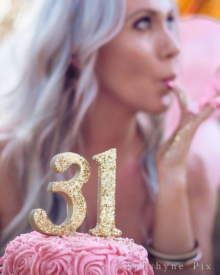 Kirsti's Golden Birthday, Adult Cake Smash Photo session, sunshyne pix