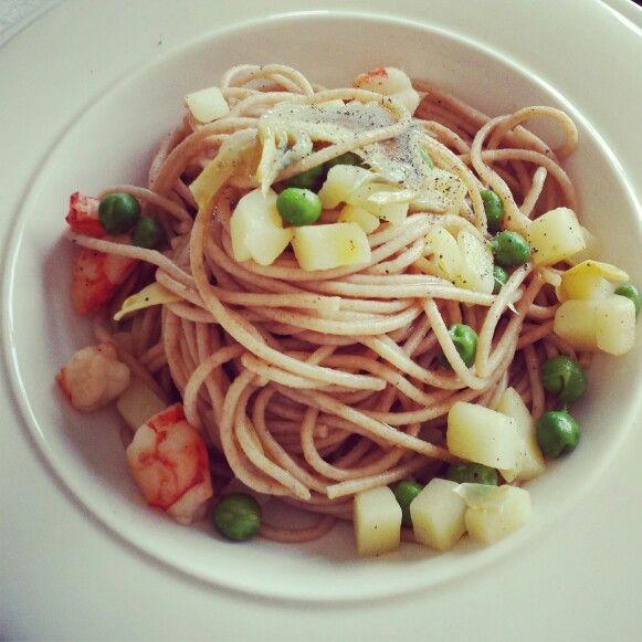 spaghetti primavera