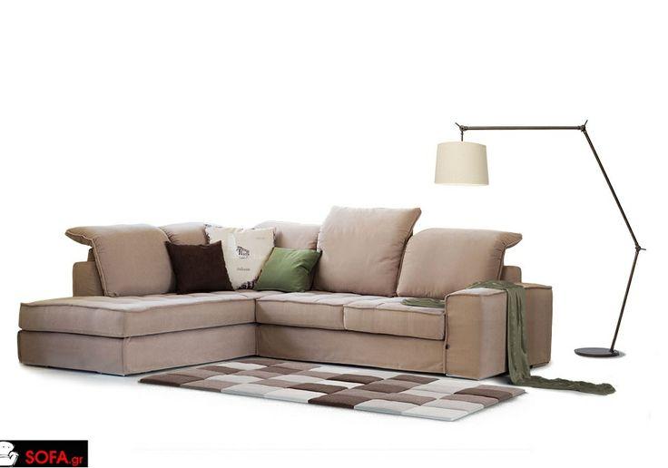 Γωνιακός Καναπές Dream με ανάκλιση και αποσπώμενο ύφασμα  http://sofa.gr/goniakos-kanapes-dream