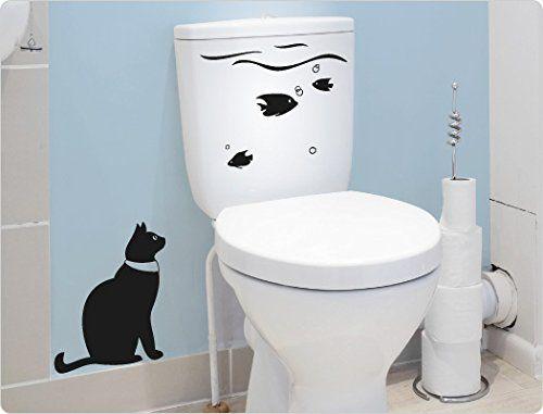29 best Toilettenaufkleber WC Deckel Sticker images on Pinterest - wandtattoos fürs badezimmer