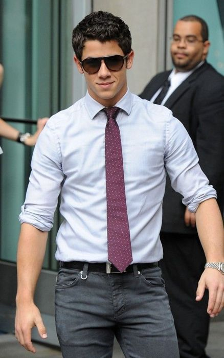 Nick Jonas. Who knew a JoBro would turn into this handsome devil? Oh wait me!