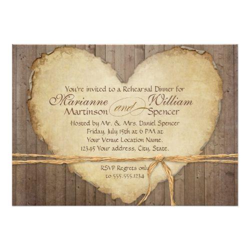 616 best heart wedding invitations images on pinterest wedding
