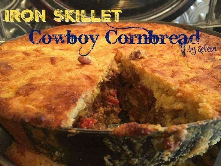 Iron Skillet Cowboy Cornbread is one of my most requested recipes, if you haven't tried it yet you are missing out! A nice hearty meal that will fill you up!