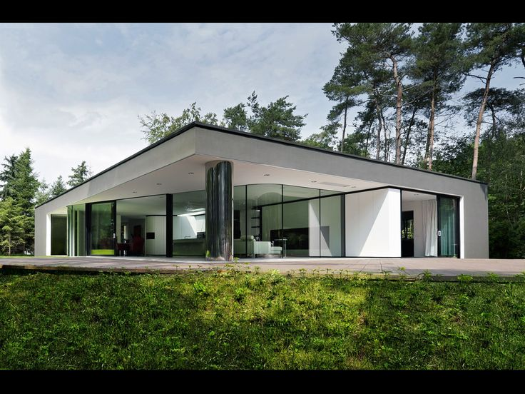 Dutch architecture firm recently completed this modern villa, called Villa  Veth, in Hattem, Netherlands. It's about square feet on a bit under