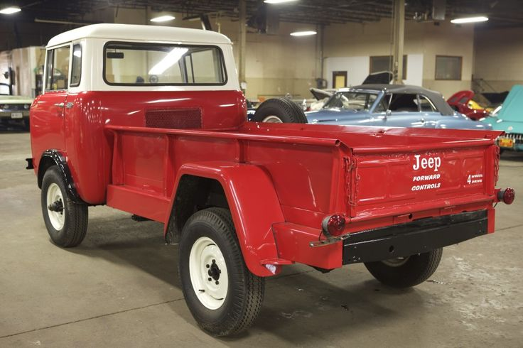 Willys Fc 170 >> 1963 Willys Jeep FC-170 | Forward Control | Pinterest | Jeeps, Vehicle and Classic cars online