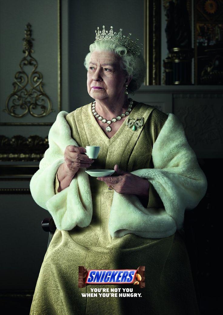 Snickers: Churchill, Queen