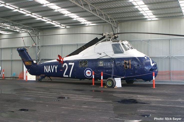 QAM AIRCRAFT COLLECTION, Westland Wessex HAS Mk 31A N7-217 c/n WA217 freshly painted February 2006. Photograph Nick Sayer.