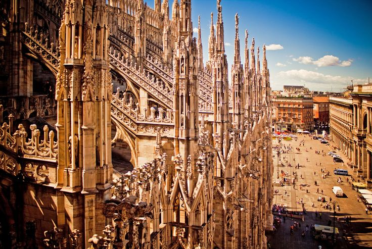 Milan Cathedral Roof | Milan Cathedral
