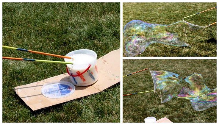 groooote zeepbellen met recept
