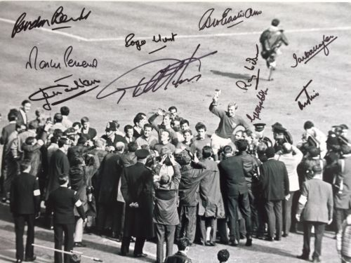 England 1966 #world cup #signed hurst peters banks wilson cohen hunt #charlton et,  View more on the LINK: http://www.zeppy.io/product/gb/2/162159645302/