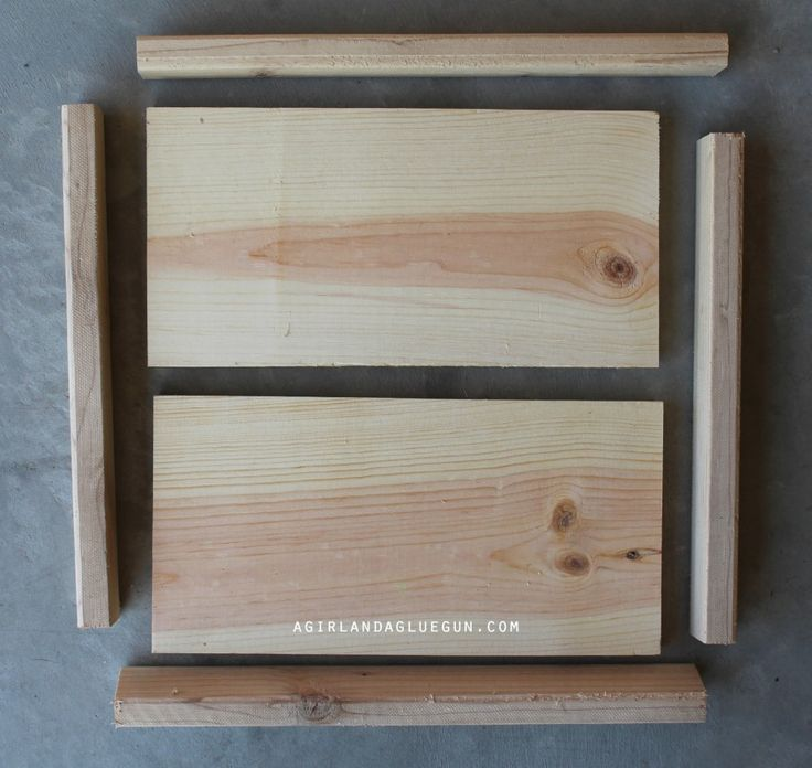 how to make a wood sign with frame duplicate of red pin