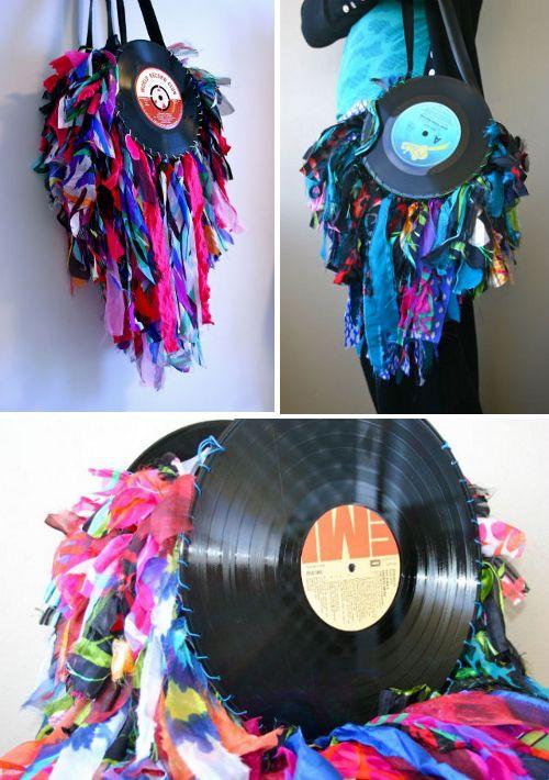 M s de 25 ideas fant sticas sobre discos de vinilo en - Decoracion con discos de vinilo ...