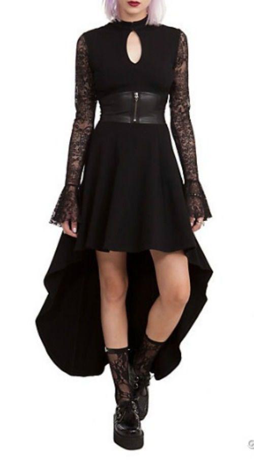Mortal Instruments CITY of BONES ISABELLE Black Dress Lace ...
