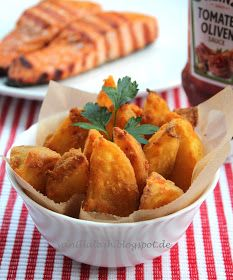 Vanilla Lash: Crispy Potatoes Wedges